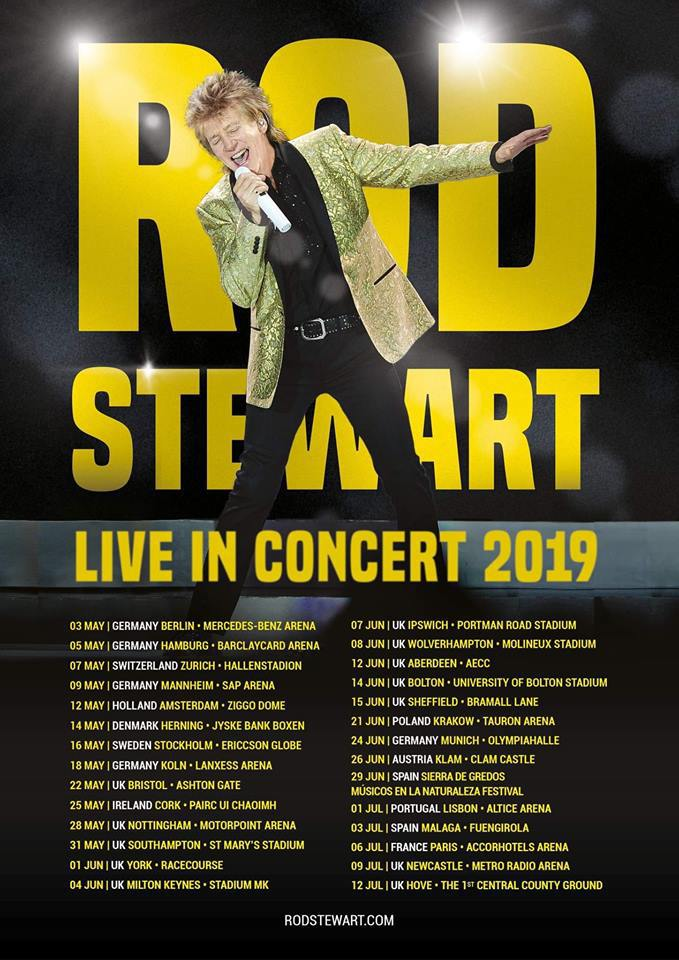 Rod Stewart Fan Club - November 2018
