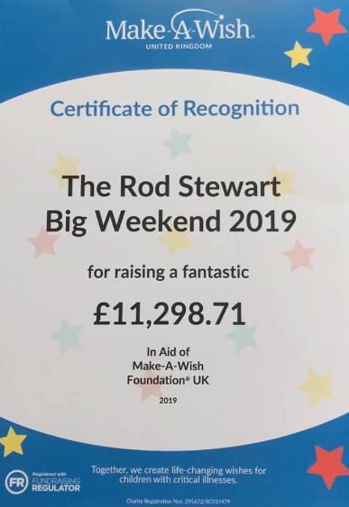 Rod Stewart Fan Club - THE RSFC BIG WEEKEND